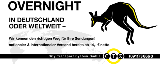 overnight – nationaler & internationaler Versand