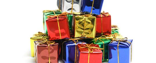 Geschenke her!
