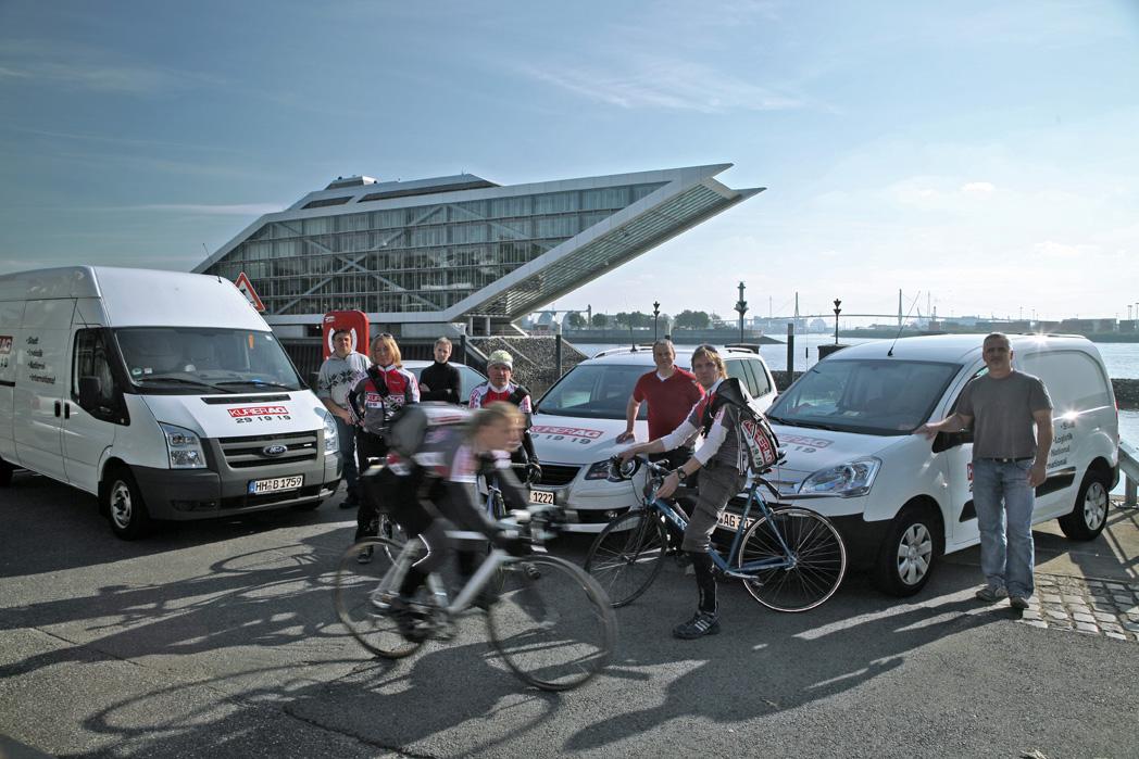 Kurier AG Team Hamburg